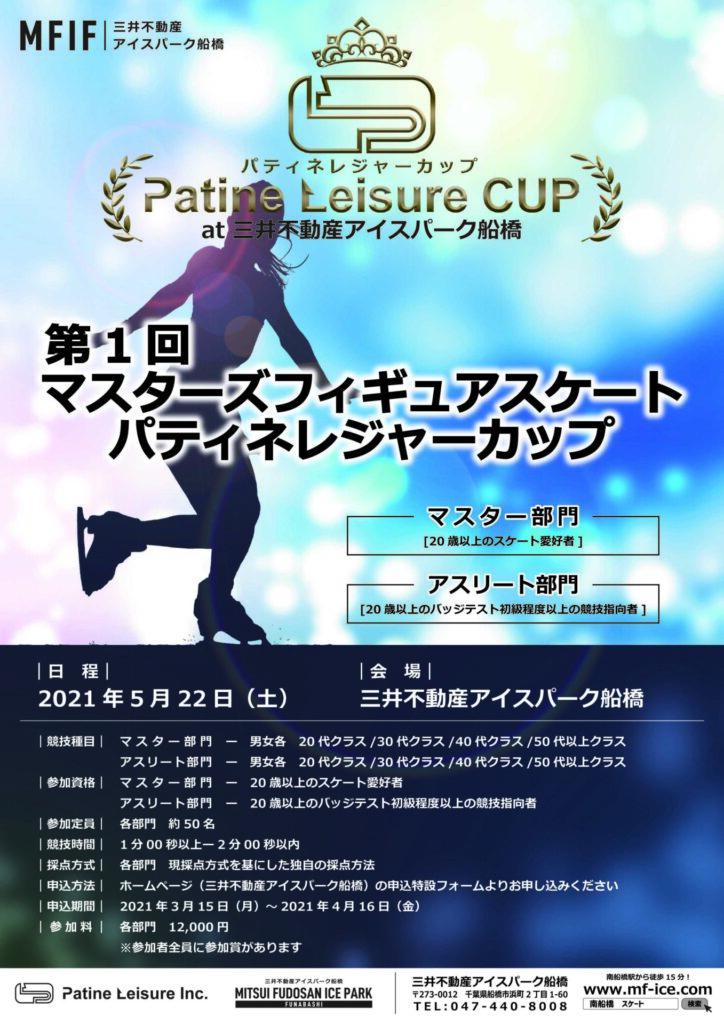 第1回マスターズフィギュアスケート パティネレジャーカップ